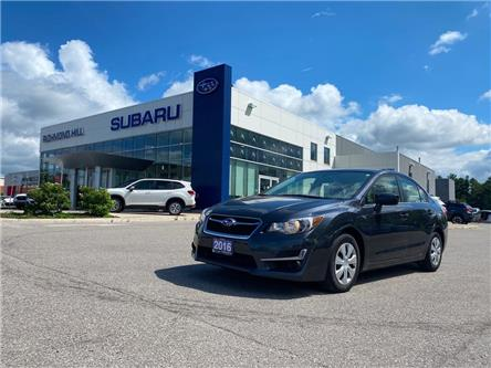 2016 Subaru Impreza  (Stk: P03939) in RICHMOND HILL - Image 1 of 12