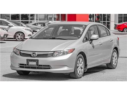 2012 Honda Civic 4dr Auto LX (Stk: 037725T) in Brampton - Image 1 of 21