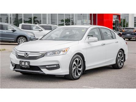 2016 Honda Accord Sedan 4dr I4 CVT EX-L | LTHR | BACK UP CAM | PUSH START (Stk: 805524T) in Brampton - Image 1 of 30