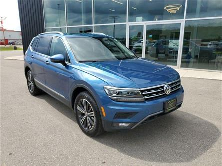2019 Volkswagen Tiguan Highline (Stk: 5700N TILLSONBURG) in Tillsonburg - Image 1 of 30