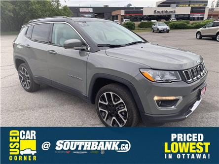 2019 Jeep Compass Limited (Stk: 922874) in OTTAWA - Image 1 of 20