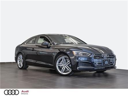 2018 Audi A5 2.0T Technik (Stk: PA714) in Ottawa - Image 1 of 21