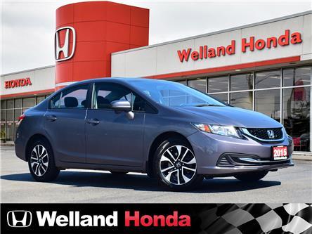 2015 Honda Civic EX (Stk: U20163) in Welland - Image 1 of 21
