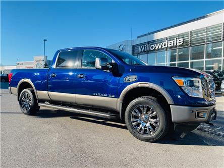 2019 Nissan Titan XD Platinum Reserve Diesel (Stk: E7860) in Thornhill - Image 1 of 24