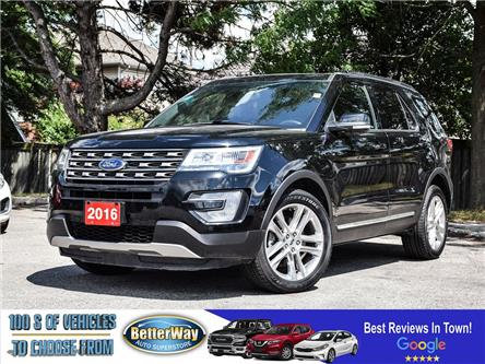 2016 Ford Explorer XLT | AWD |LEATHER |NAVIGATION |DUAL SUNROOF (Stk: 5701) in Stoney Creek - Image 1 of 23