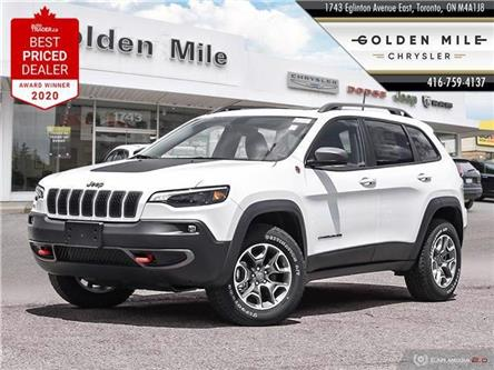 2020 Jeep Cherokee Trailhawk (Stk: 555824) in Toronto, Ajax, Pickering - Image 1 of 3