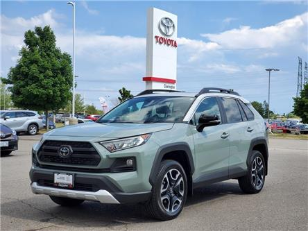 2019 Toyota RAV4 Trail (Stk: P2473A) in Bowmanville - Image 1 of 27
