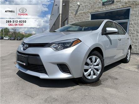 2015 Toyota Corolla LE KEYLESS, HEATED SEATS, BACK UP CAMERA, BLUETOOT (Stk: 47688A) in Brampton - Image 1 of 23