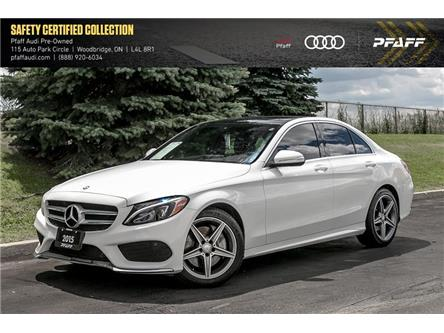 2015 Mercedes-Benz C-Class Base (Stk: C7509A) in Woodbridge - Image 1 of 22