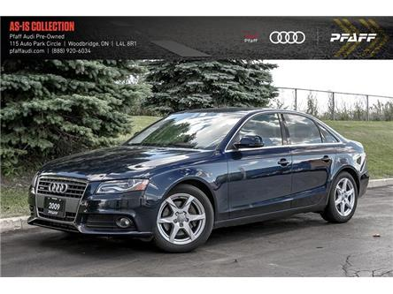 2009 Audi A4 2.0T Premium (Stk: C7643A) in Woodbridge - Image 1 of 19