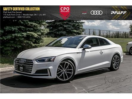 2018 Audi S5 3.0T Technik (Stk: C7681) in Woodbridge - Image 1 of 22