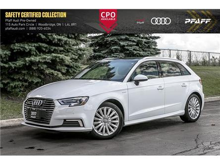 2017 Audi A3 e-tron 1.4T Progressiv (Stk: C7698) in Woodbridge - Image 1 of 22