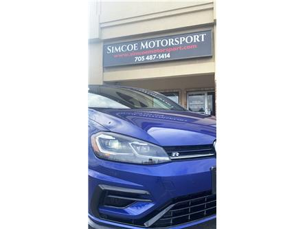 2018 Volkswagen Golf R 2.0 TSI (Stk: ) in Oro-Station - Image 1 of 10