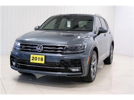 2018 Volkswagen Tiguan Highline (Stk: T19347A) in Sault Ste. Marie - Image 1 of 16