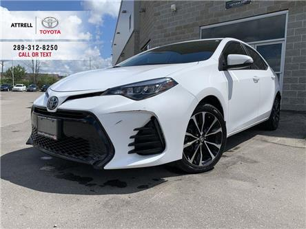 2018 Toyota Corolla SE UPGRADE HEATED STEERING, ALLOYS, SUNROOF, SPOIL (Stk: 47707A) in Brampton - Image 1 of 23