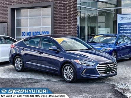 2017 Hyundai Elantra GL (Stk: H5918) in Toronto - Image 1 of 28