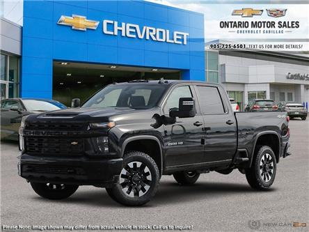 2020 Chevrolet Silverado 2500HD Custom (Stk: T0293373) in Oshawa - Image 1 of 27