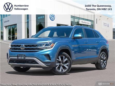2020 Volkswagen Atlas Cross Sport 2.0 TSI Comfortline (Stk: 97938) in Toronto - Image 1 of 23