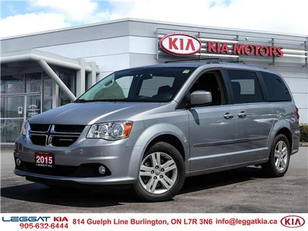 2015 Dodge Grand Caravan Crew (Stk: 2A8037A) in Burlington - Image 1 of 22