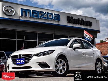 2015 Mazda Mazda3 GX (Stk: N200376A) in Markham - Image 1 of 23