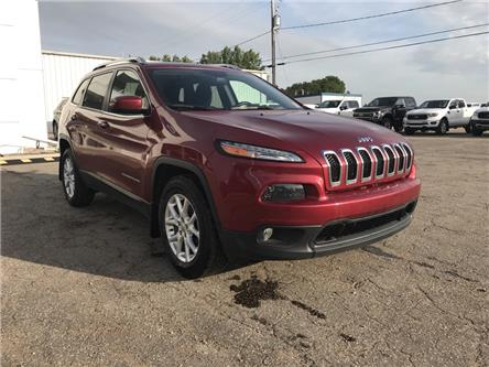 2017 Jeep Cherokee North (Stk: 20U131) in Wilkie - Image 1 of 22