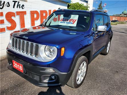 2018 Jeep Renegade Limited (Stk: 20-325) in Oshawa - Image 1 of 15