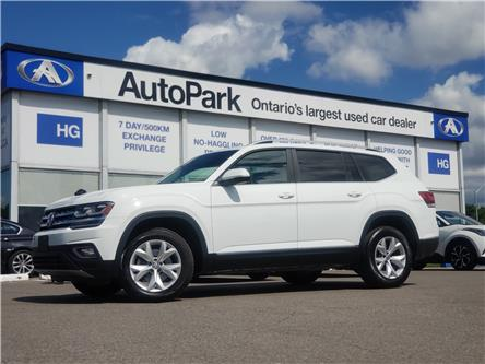 2018 Volkswagen Atlas 3.6 FSI Highline (Stk: 18-71502) in Brampton - Image 1 of 25