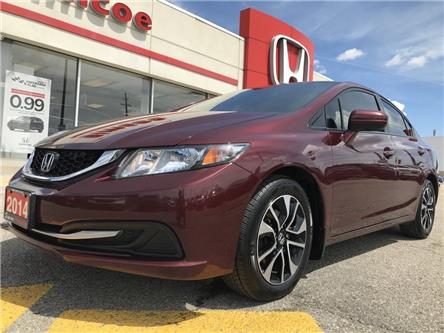 2014 Honda Civic EX (Stk: SH200A) in Simcoe - Image 1 of 20