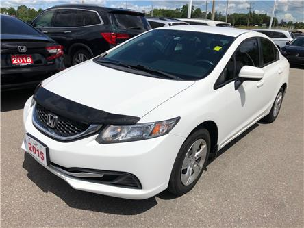2015 Honda Civic LX (Stk: 21045A) in Cambridge - Image 1 of 5