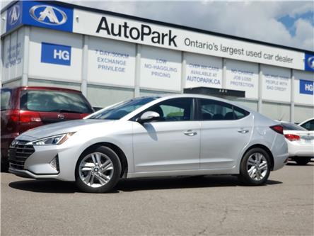 2020 Hyundai Elantra Preferred w/Sun & Safety Package (Stk: 20-97146) in Brampton - Image 1 of 20
