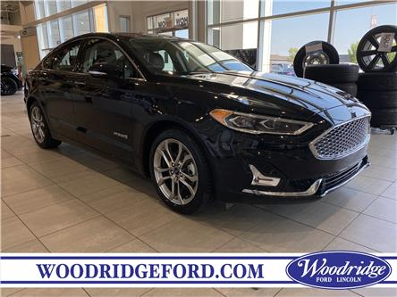 2019 Ford Fusion Hybrid Titanium (Stk: 17574) in Calgary - Image 1 of 21