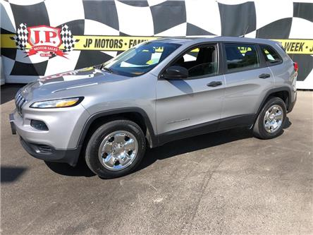 2016 Jeep Cherokee Sport (Stk: 49500) in Burlington - Image 1 of 22