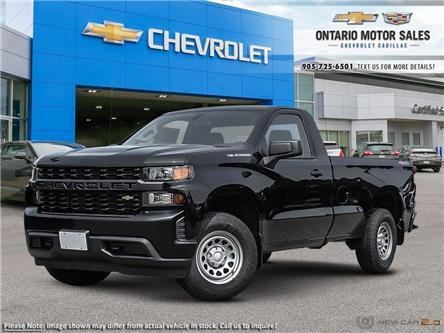 2020 Chevrolet Silverado 1500 Work Truck (Stk: T0328132) in Oshawa - Image 1 of 24