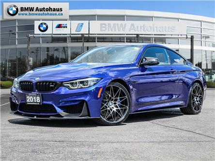 2018 BMW M4 Base (Stk: P9576) in Thornhill - Image 1 of 29