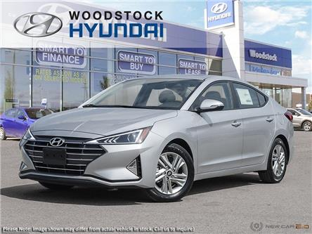 2020 Hyundai Elantra Preferred w/Sun & Safety Package (Stk: EA20064) in Woodstock - Image 1 of 23