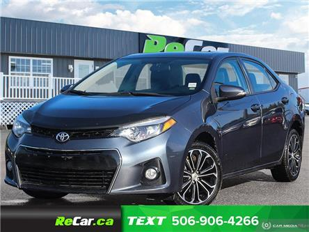 2015 Toyota Corolla S (Stk: 200722A) in Fredericton - Image 1 of 21