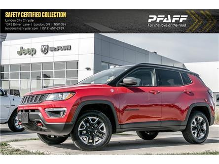 2018 Jeep Compass Trailhawk (Stk: LC2682A) in London - Image 1 of 22