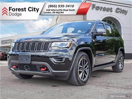 2020 Jeep Grand Cherokee Trailhawk (Stk: 8-7004A) in London - Image 1 of 19