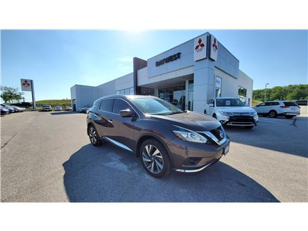 2017 Nissan Murano Platinum (Stk: ) in Owen Sound - Image 1 of 15