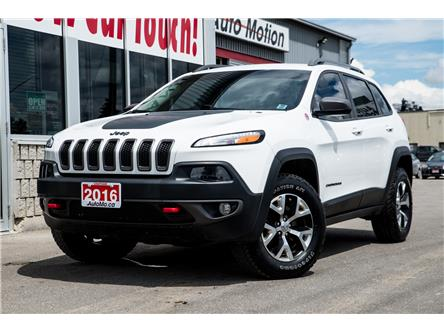2016 Jeep Cherokee Trailhawk (Stk: 20529) in Chatham - Image 1 of 23