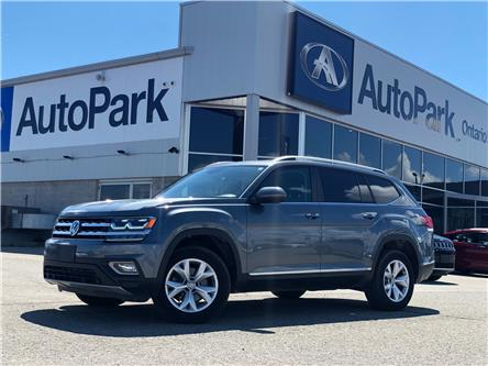 2018 Volkswagen Atlas 3.6 FSI Highline (Stk: 18-71416RJB) in Barrie - Image 1 of 31