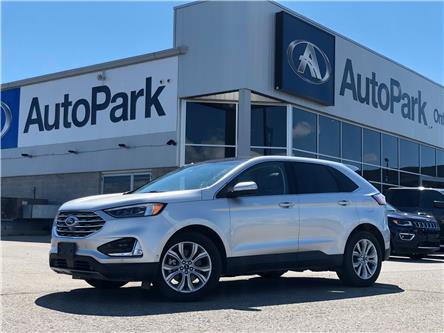 2019 Ford Edge Titanium (Stk: 19-82085RJB) in Barrie - Image 1 of 31