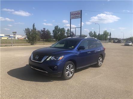 2017 Nissan Pathfinder SL (Stk: 19-213A) in Grande Prairie - Image 1 of 16