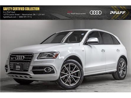 2016 Audi SQ5 3.0T Progressiv (Stk: A12875A) in Newmarket - Image 1 of 21