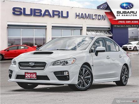 2016 Subaru WRX Base (Stk: U1590) in Hamilton - Image 1 of 25