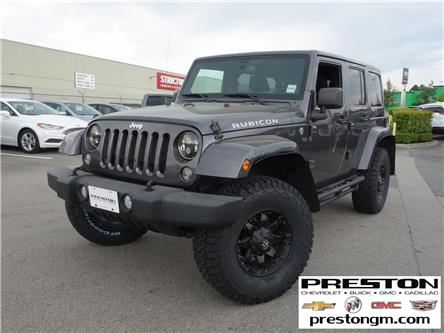 2014 Jeep Wrangler Unlimited Rubicon (Stk: 0205222) in Langley City - Image 1 of 29