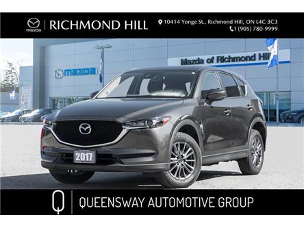 2017 Mazda CX-5 GS (Stk: P0507) in Richmond Hill - Image 1 of 18