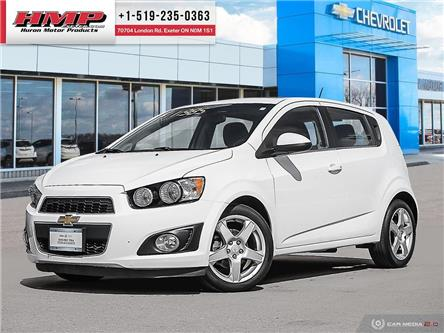 2015 Chevrolet Sonic LT Auto (Stk: 87719) in Exeter - Image 1 of 27