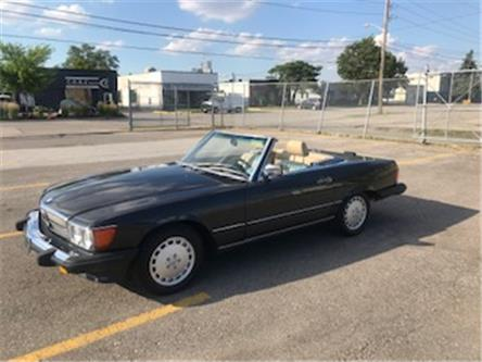 1989 Mercedes-Benz 560SL CONVERTIBLE (Stk: ) in Etobicoke - Image 1 of 21