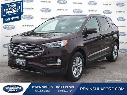 2020 Ford Edge SEL (Stk: 20ED12) in Owen Sound - Image 1 of 24